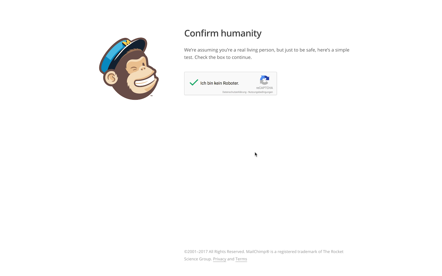 The complete mailchimp tutorial from beginners to experts mailchimp account creation google captcha fandeluxe Images