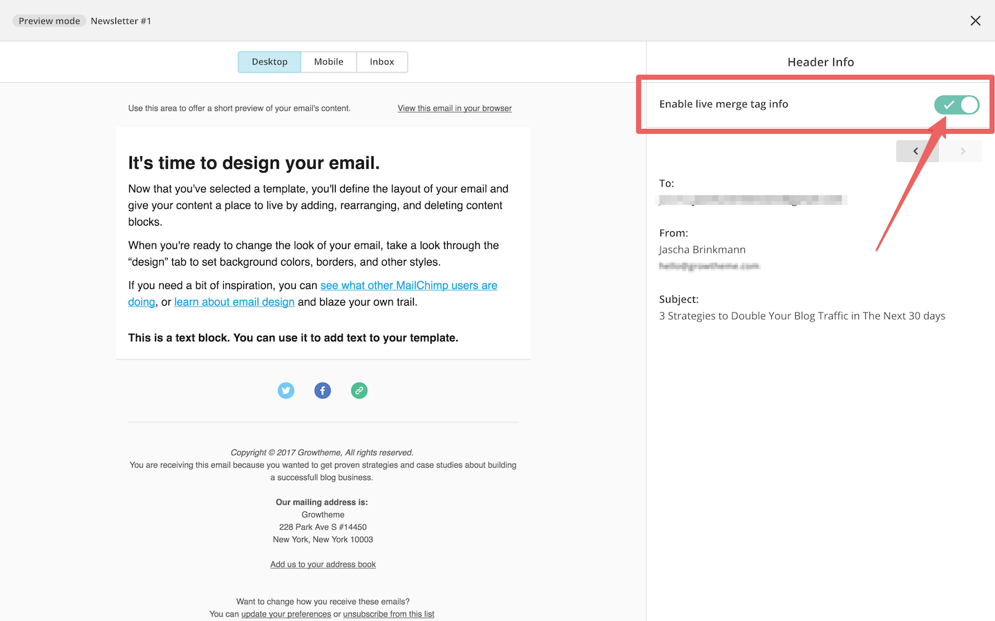 The Complete MailChimp Tutorial From Beginners To Experts - Mailchimp template tags